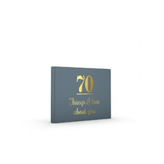 70 Things I Love About You Guest Book