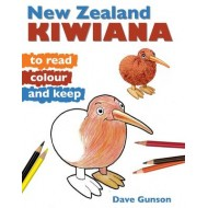 NEW ZEALAND KIWIANA TO READ, COLOUR & KEEP