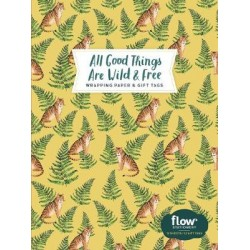 All Good Things Are Wild and Free Wrapping Paper and Gift Tags
